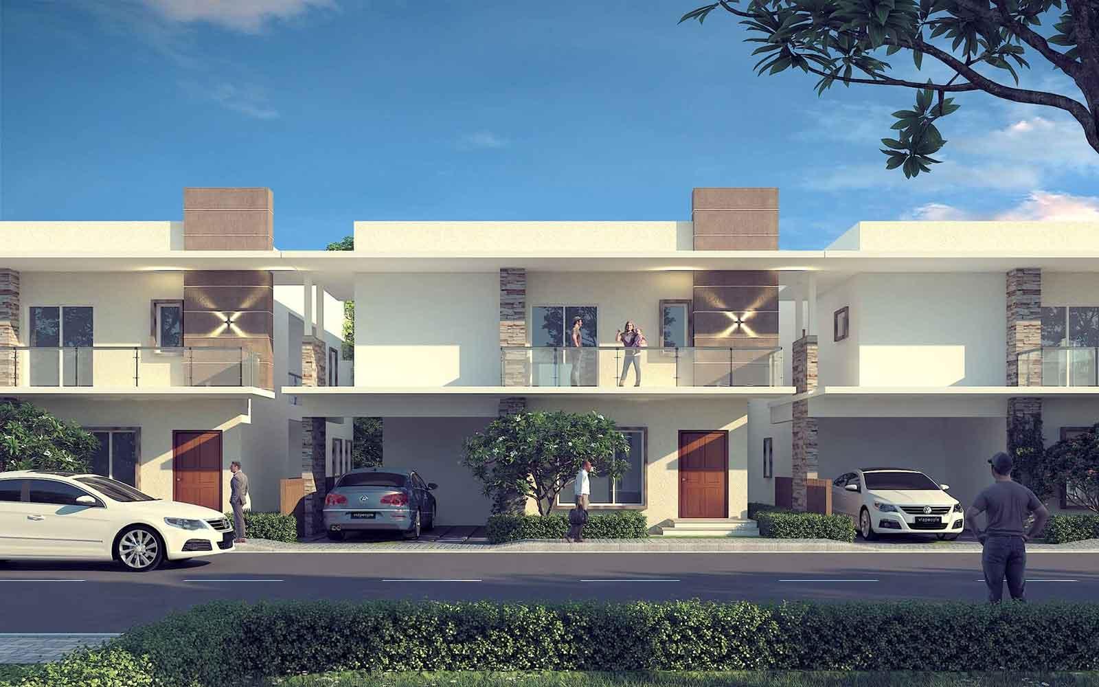 Kumari Oakville Villas on Sarjapur Road villas banner